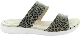 Just Bee Century Leopard Sandal