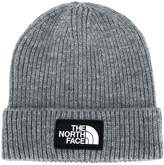 The North Face ribbed logo patch hat