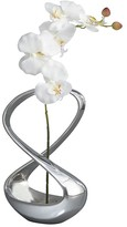 Nambe Infinity Silk Orchid Vase