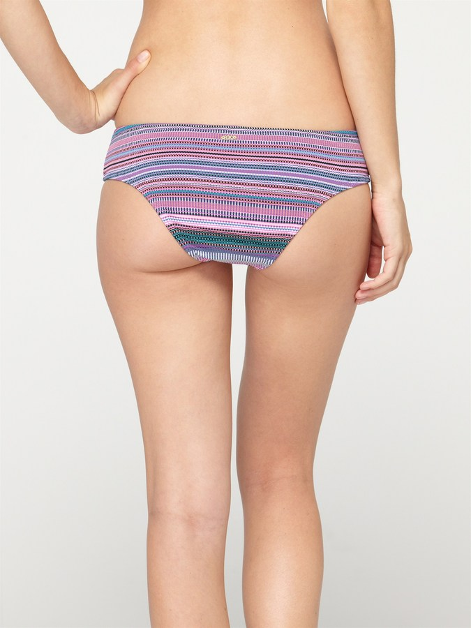 Roxy Coastal Switch Sweetheart Brief Bikini Bottoms