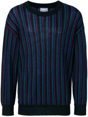 A.N.G.E.L.O. Vintage Cult 1980's Striped Knitted Jumper