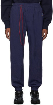 Ader Error Navy Truck Track Pants