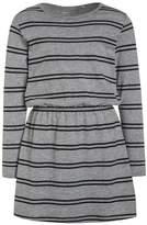 Name It NITVELVET ALLOVER Jersey dress grey melange