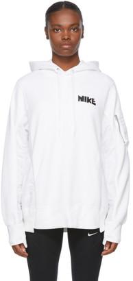 Nike White Sacai Edition NRG Rh Hoodie
