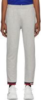 Moncler Grey Striped Lounge Pants