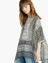 Lucky Brand Scarf Tunic