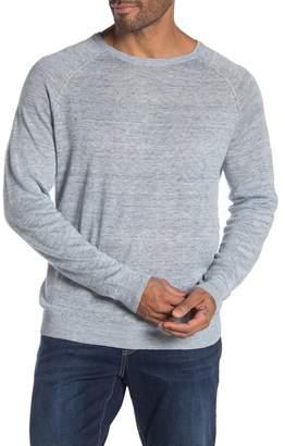 Tailor Vintage Saddle Shoulder Linen Sweater
