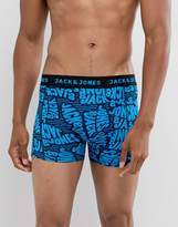Jack & Jones Printed Trunk With All Over Script