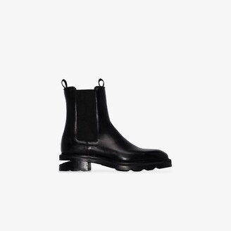 Alexander Wang black Andy leather Chelsea boots