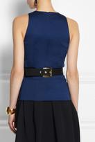 Marni Cotton-crepe bow belt