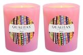 Qualitas Candles Rose Beeswax Candles (Set of 2) (6.5 OZ)