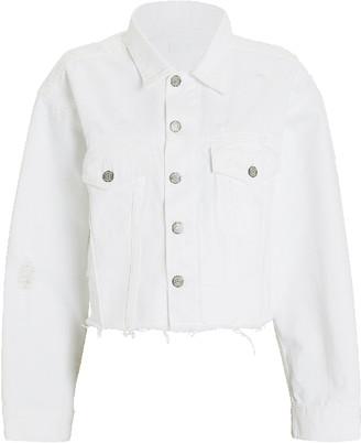 Boyish The Harvey Denim Jacket In Royal Wedding - XS