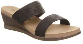 BearPaw Noelle Mule Wedge Sandal