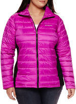 Columbia Frosted Ice Hybrid-Quilted Jacket - Plus