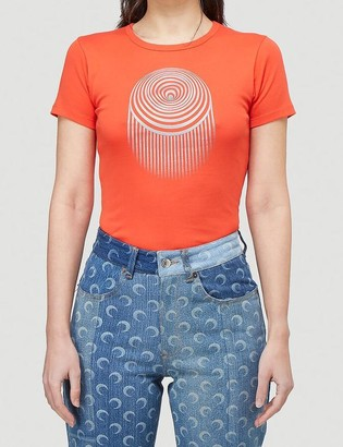 Marine Serre Optic Moon T-Shirt