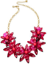 Kate Spade Gold-Tone Blooming Brilliant Flower Statement Necklace