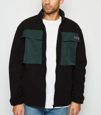 New Look Double Front Pocket Fleece Jacket