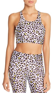 Terez Reversible Cheetah Print Sports Bra