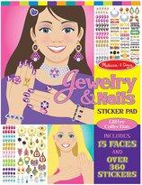 Melissa & Doug Jewelry & Nails Glitter Collection Sticker Pad