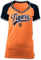 5th & Ocean Women's Detroit Tigers Rhinestone Night T-Shirt