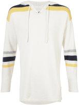 The Elder Statesman Heavy Hockey lace-up hoodie