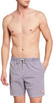 Deus Ex Machina Men's Sandbar Garment-Dyed Twill Shorts