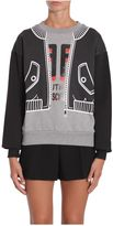 Moschino Round Collar Sweatshirt