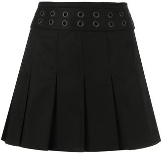 Junya Watanabe A-line mini skirt