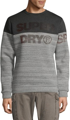 Superdry Logo Colorblock Sweatshirt