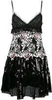 Giambattista Valli floral sequinned dress - women - Polyamide/Polyester/Viscose - 38