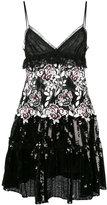Giambattista Valli floral sequinned dress - women - Polyamide/Polyester/Viscose - 40