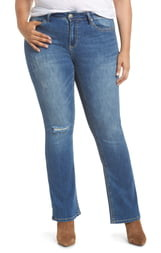 Seven7 Rocker Mid Rise Slim Bootcut Jeans