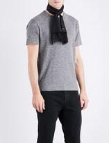 Officine Generale Marl-effect cotton T-shirt