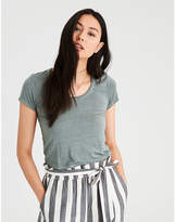 American Eagle AE Soft & Sexy Fitted Baby Tee