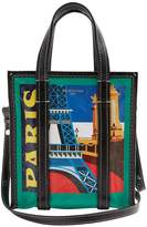 Balenciaga XS Bazar Shopper in Paris Print