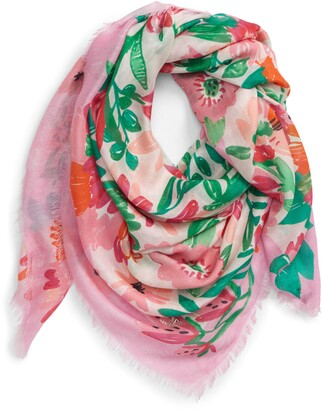 Kate Spade Full Bloom Square Scarf
