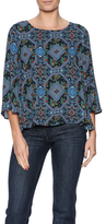 Everly Floral Geometric Top