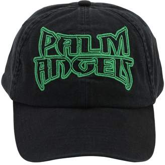 Palm Angels EMBROIDERED COTTON BASEBALL HAT
