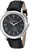 Raymond Weil Men's 2847-STC-20001 Maestro Analog Display Swiss Automatic Black Watch