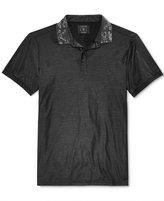 GUESS Men's Printed Collar Shirt