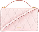 Givenchy GV3 Quilted Leather Strap Wallet Bag in Pink | FWRD
