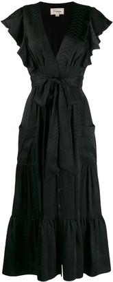 Temperley London Ruffled Midi Dress