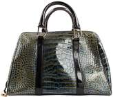 Christian Dior Leather bowling bag