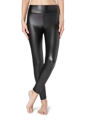 Calzedonia Thermal Leather Effect Leggings