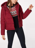 Tu clothing Plum Cropped Padded Jacket