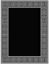 Eichholtz Carpet Apollo Black Rectangle Small