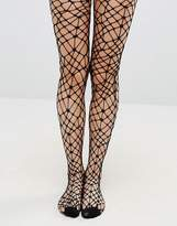 Leg Avenue Halloween Bordeaux Net Tights