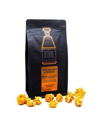 Eatable Popcorn Eatable Flavoured Popcorn Pop The Salt And Tequila