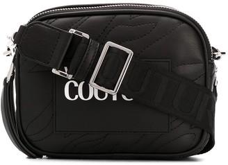Versace Quilted Logo Shoulder Bag