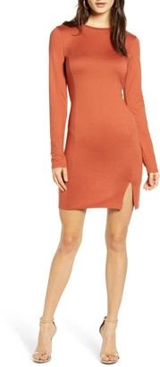 Leith Easy Fit Long Sleeve Minidress